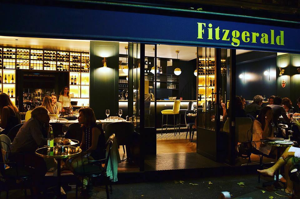Le fitzgerald restaurant bar cocktails tendre est la nuit dans le - Tour maubourg restaurant ...