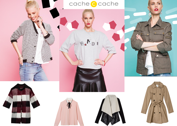 Cache Cache – collection automne hiver 2016-2017