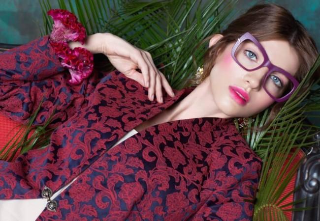 Caroline Abram – lunettes optiques et solaires – faces à main