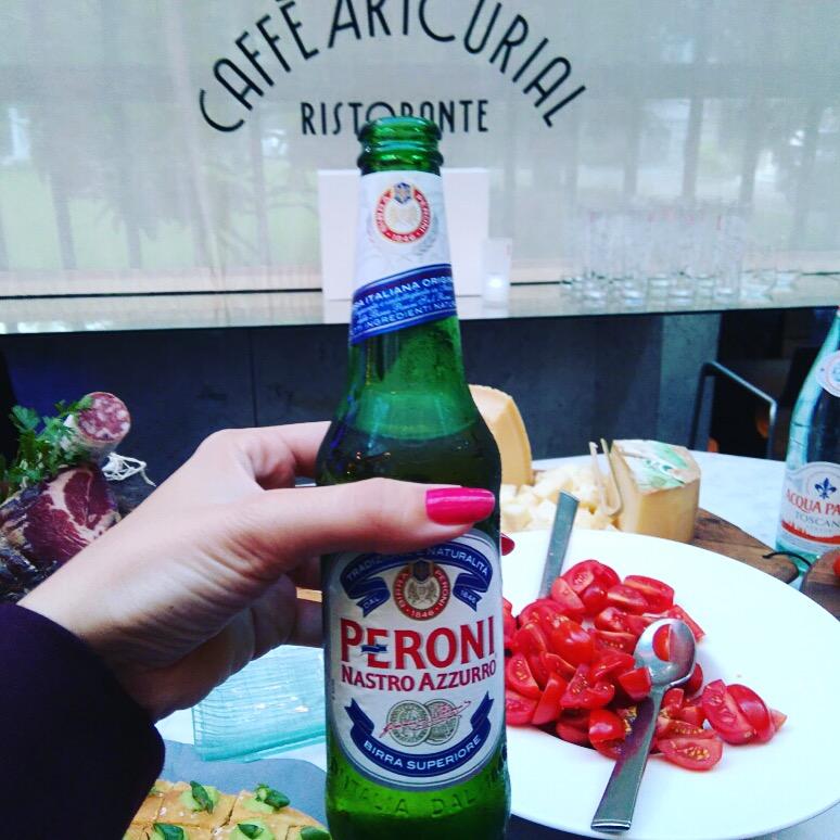 PERONI NASTRO AZZURRO - la célèbre bière italienne - Caffè Artcuriala