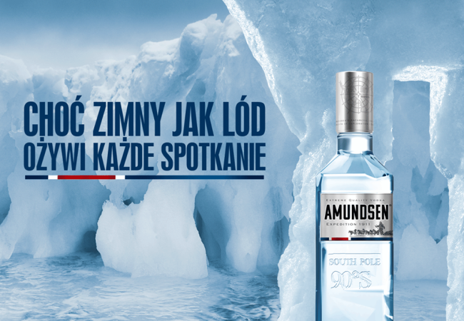 Amundsen  – extreme quality Vodka – Expedition 1911