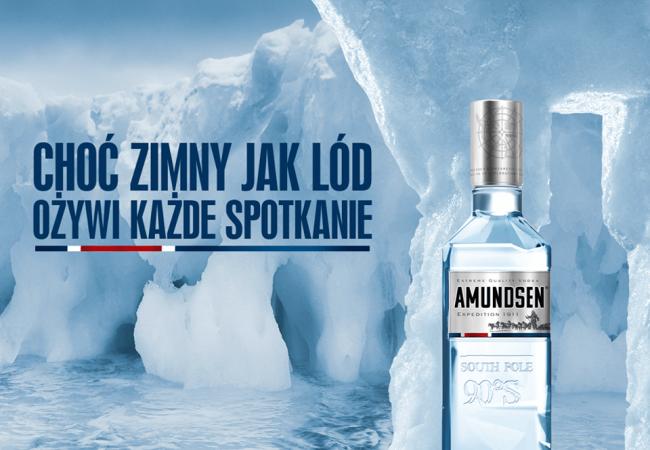 Amundsen  – extreme quality Vodka – Expedition 1911