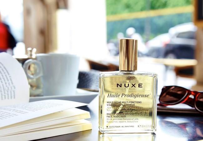 Nuxe – cosmétiques naturels – coffrets et cadeaux – huile prodigieuse