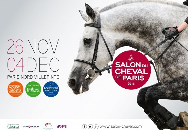 Le Salon du Cheval de Paris – le défilé traditionnel – 20 novembre 2016