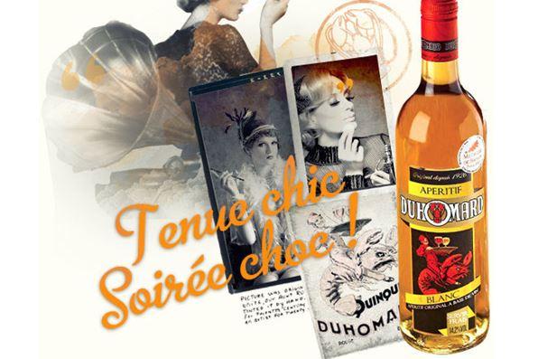 Duhomard – apéritif original composé de vin et de plantes aromatiques