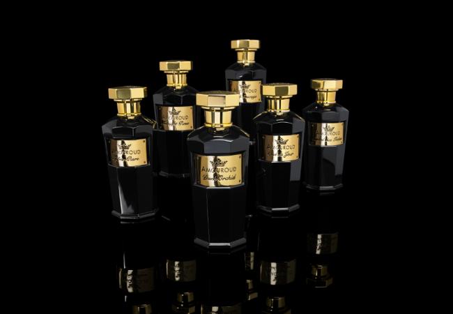 Amouroud – parfums d'exception – Oud du Jour – Safran Rare – Tea Rose