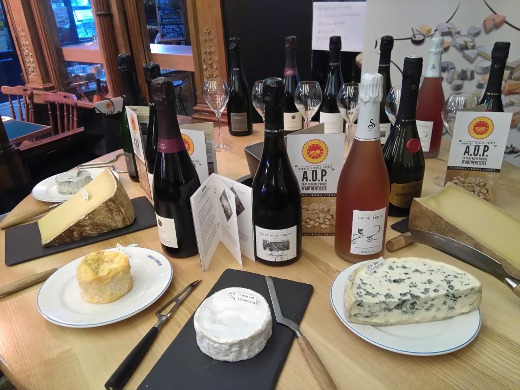 accords AOP laitières-champagne