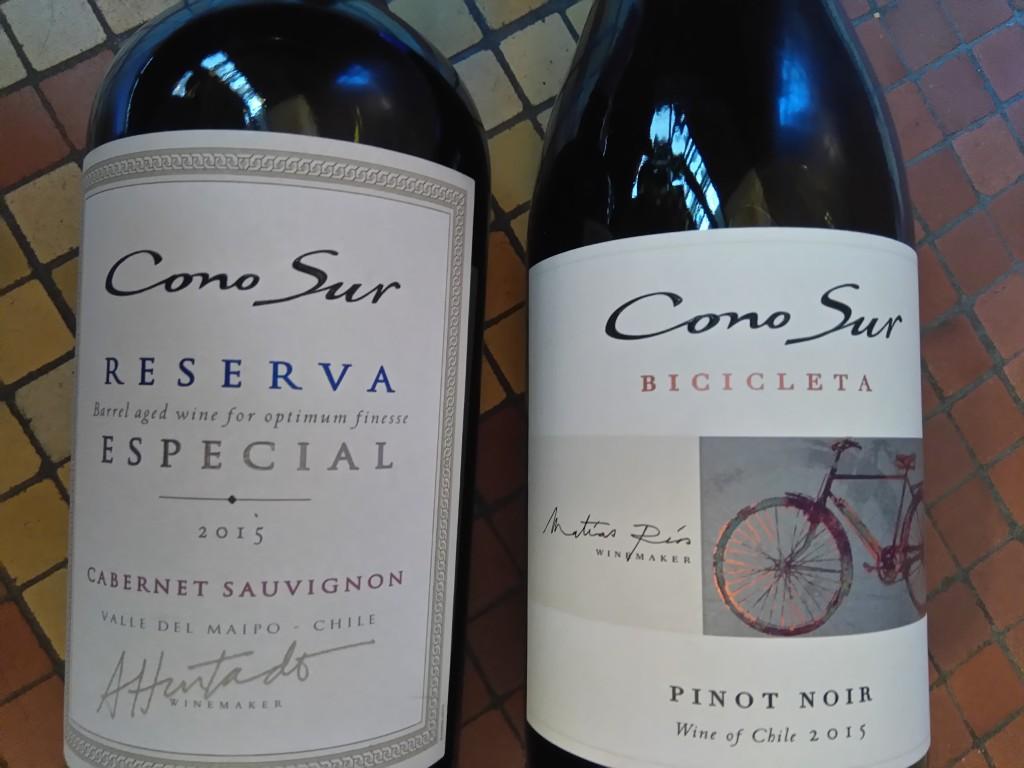 Cono Sur - bicicleta - pinot noir - vin chilien