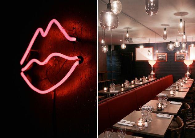Les lèvres rouges – bar à vins et bistro – Montmartre