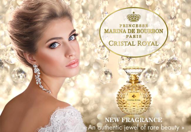 Parfum Princesse Marina de Bourbon – Cristal Royal