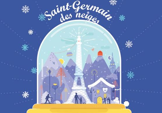 Saint-Germain des neiges – du ski en plein Paris – 17 au 20 novembre
