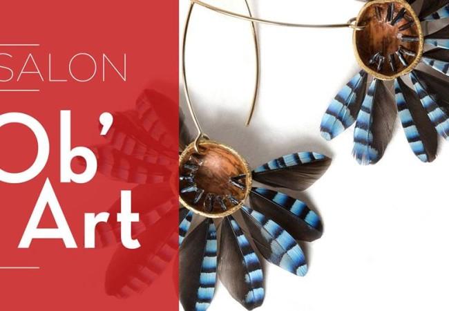Salon Ob'Art organisé par Ateliers d'Art de France – du 18 au 20/11