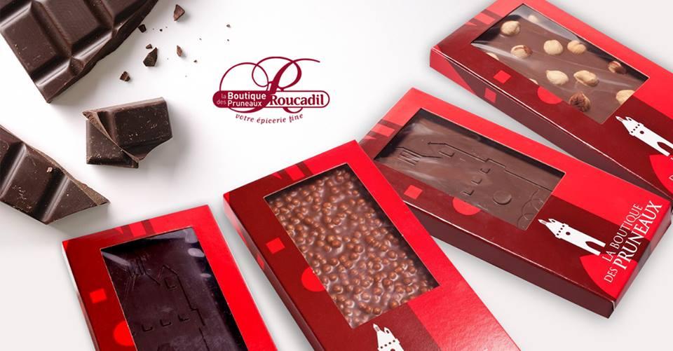 chocolat de la maison Roucadil