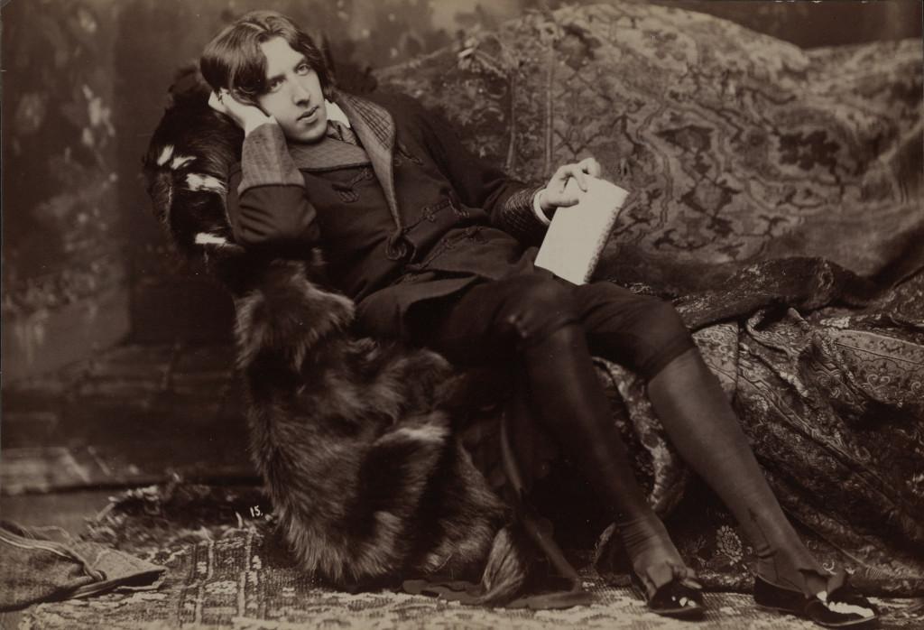 Napoleon Sarony (1821-1896), Portrait d' Oscar Wilde #15, 1882. © Bibliothèque du Congrès, Washington