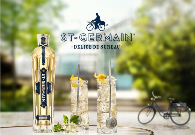 La liqueur de fleurs de sureau ST-GERMAIN – savoir-faire français