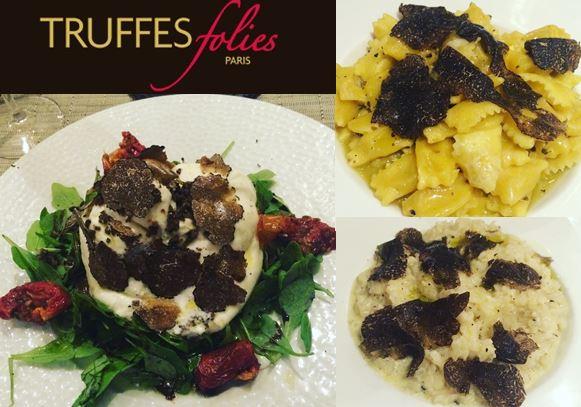 Truffes Folie – cuisine raffinée à base de Truffes – restaurant et épicerie fine