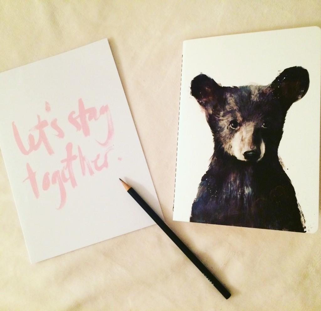 Juniqe - little bear - carnet