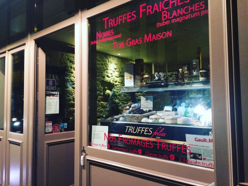 Truffes Folies - restaurant et épicerie fine autour de la truffe