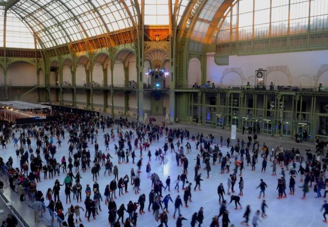 La patinoire du Grand Palais – du 14 décembre 2016 au 2 janvier
