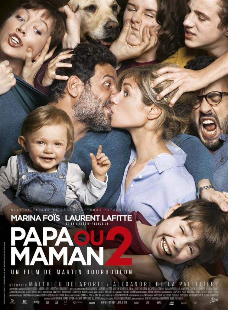 papa ou maman 2 au cinéma avec Laurent Lafitte et Marina Fois