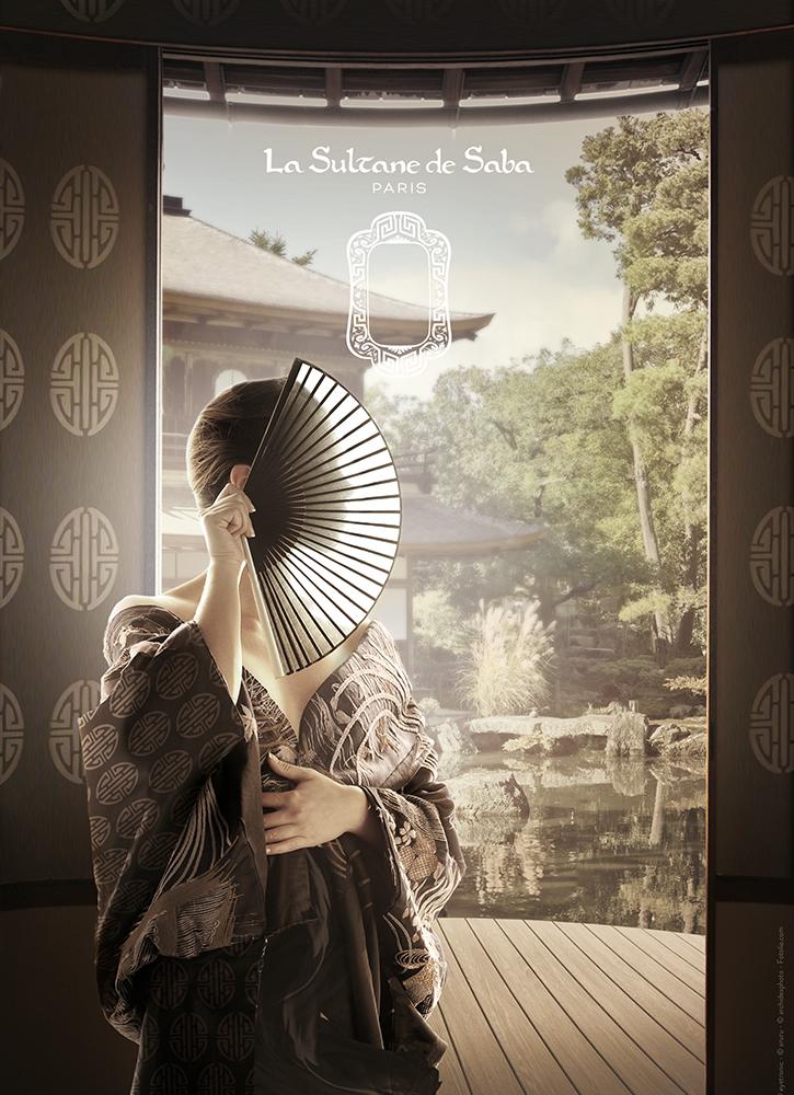 La Sultane de Saba - voyage japonais