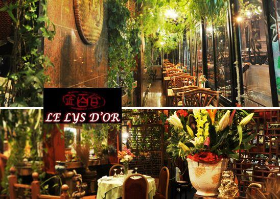 Le Lys d'Or – restaurant chinois gastronomique