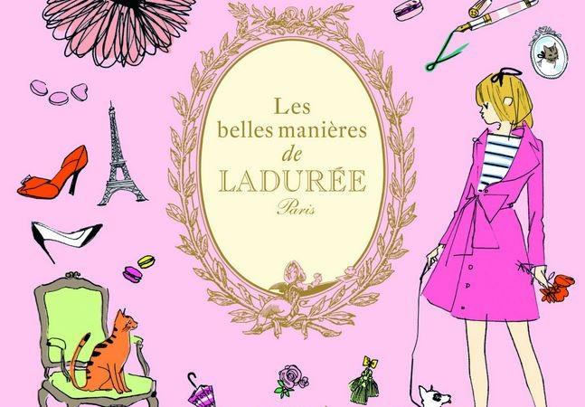 Les belles manières de Ladurée – livre coffret des éditions du Chêne