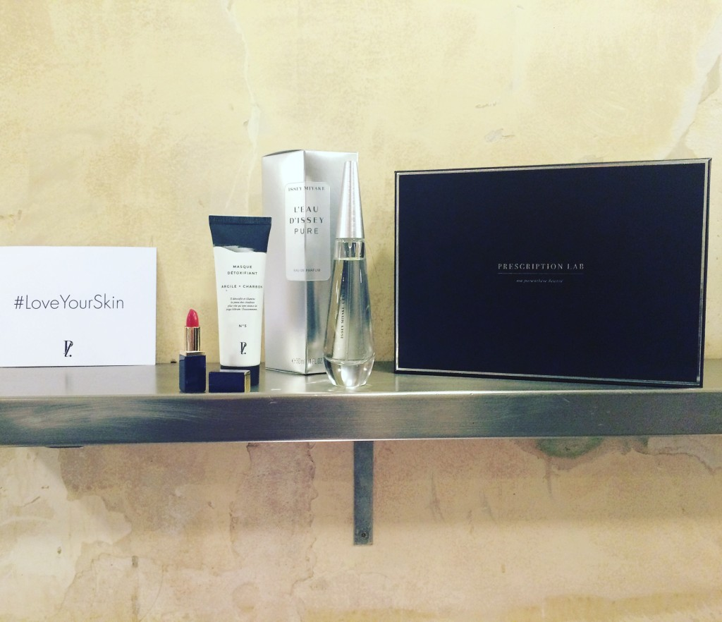 box beauté prescription lab