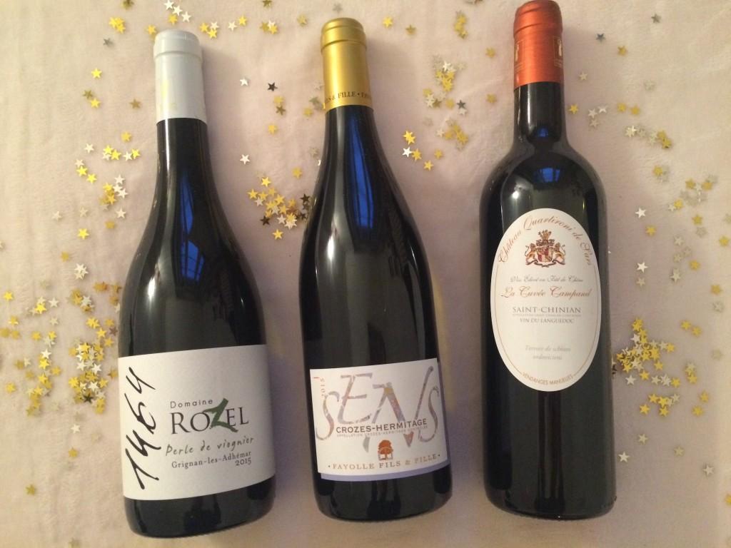 Sélection vins de Noël