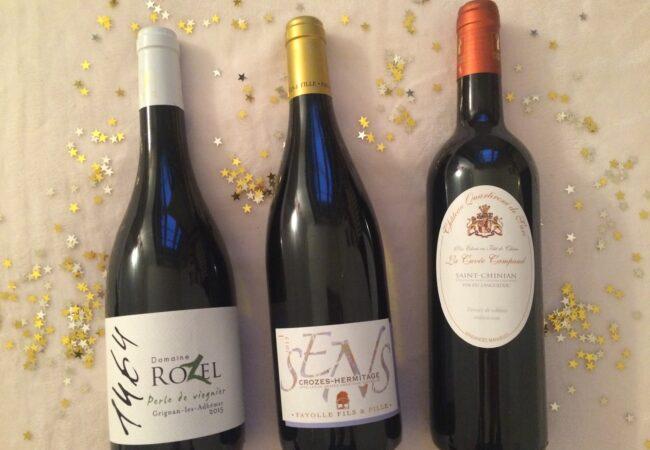 Sélection de vins de Fêtes – AOC Grignan-les-Adhemars – Crozes-Hermitage Blanc