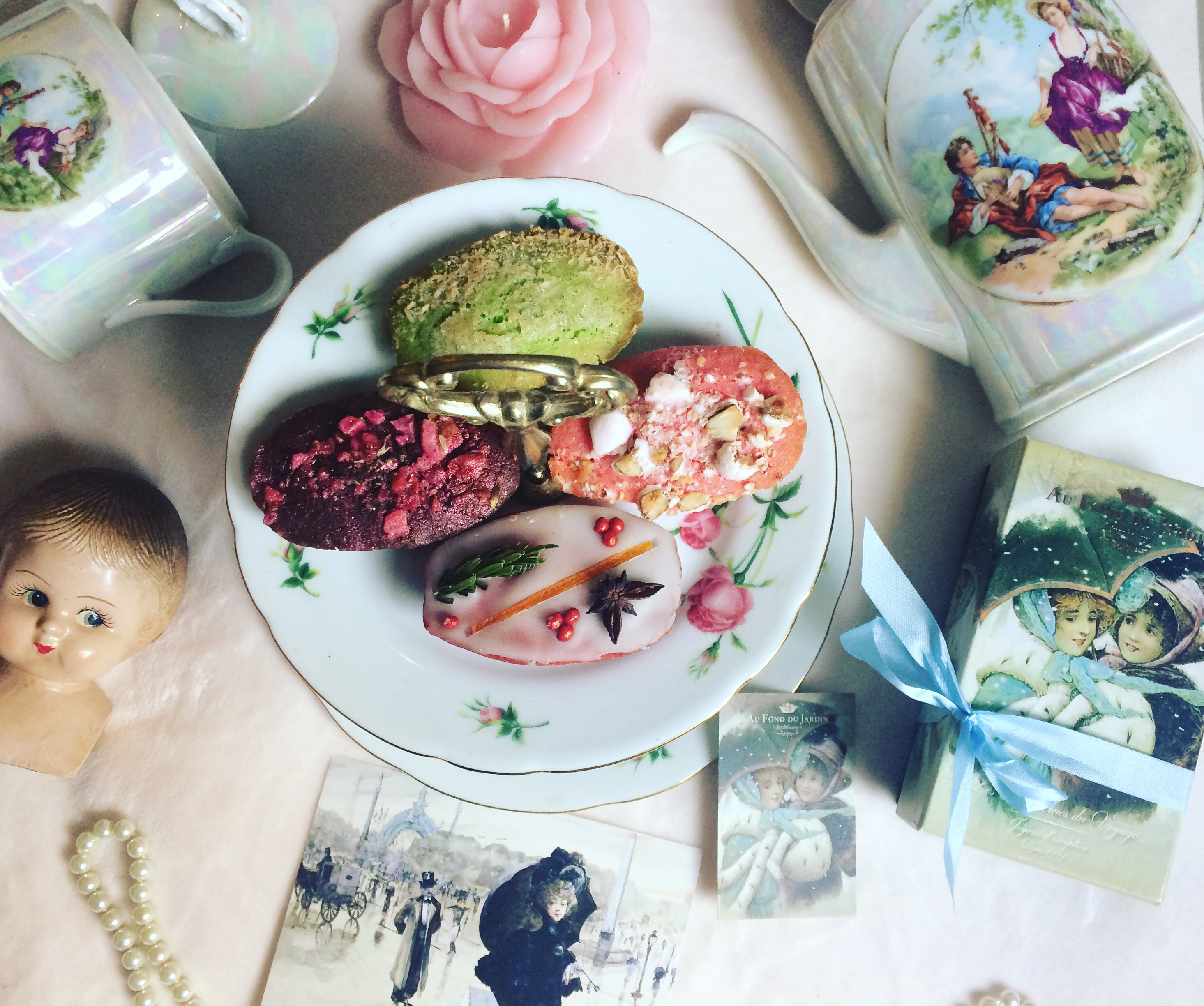 Au fond du jardin Les Madeleines Haute Couture cadeau gourmand