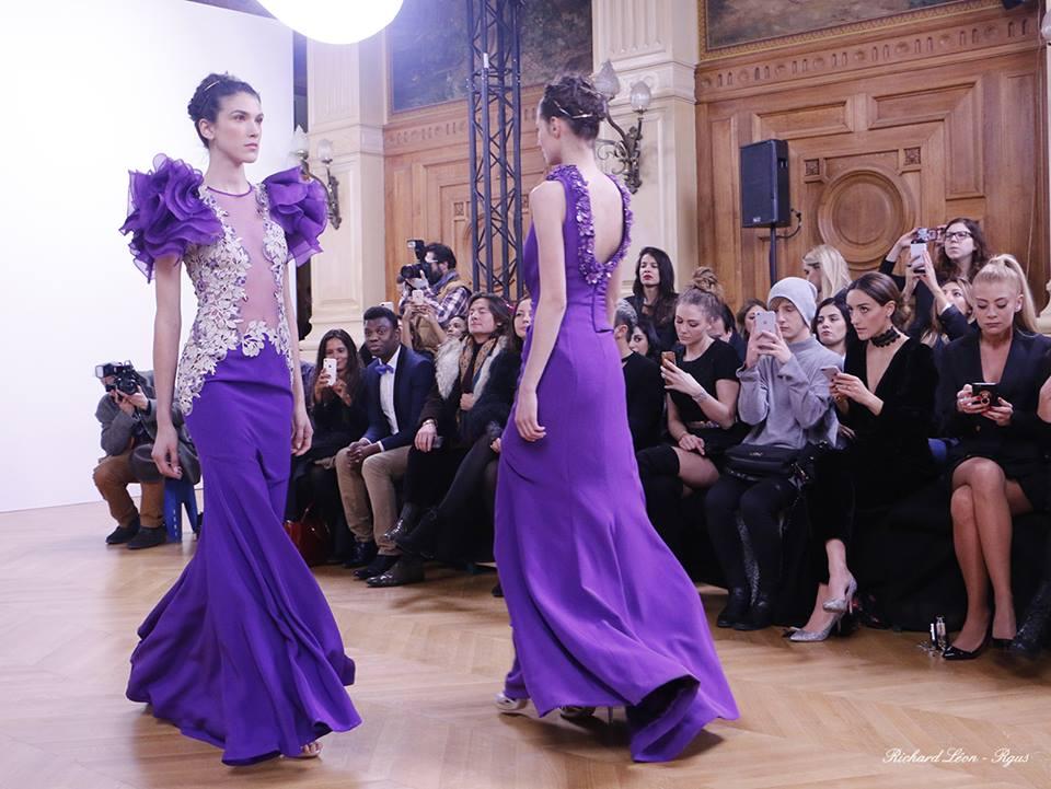 Dany Atrache - Paris Frivole - défilé de mode