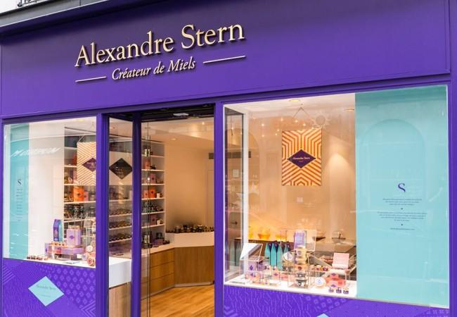Alexandre Stern – créateur de miels – boutique Paris 8