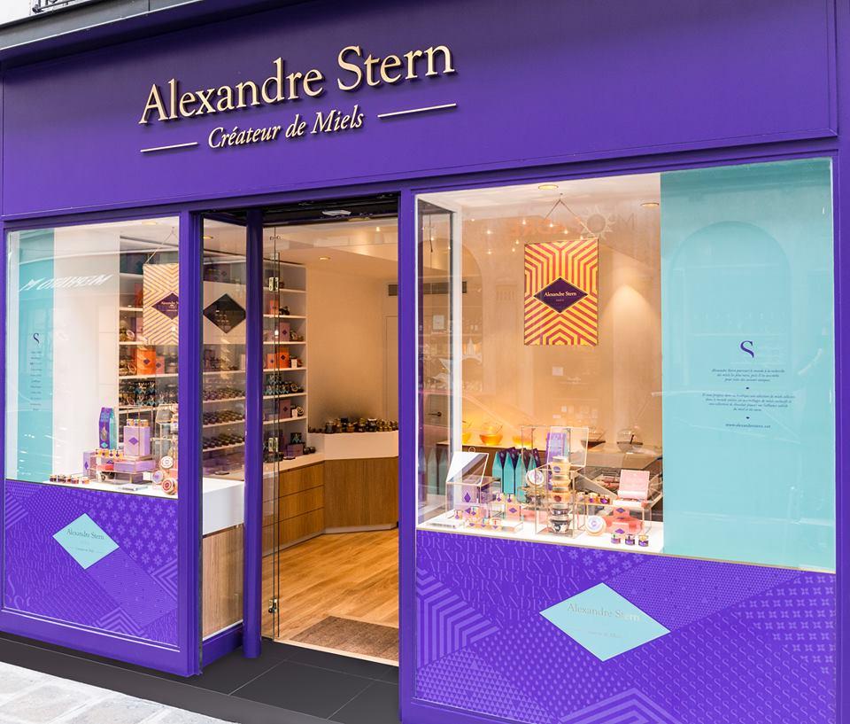 Alexandre Stern - créateur de Miels - boutique paris 8