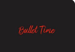 Le Bullet Time – carnet 100% personnalisable – éditions du Chêne