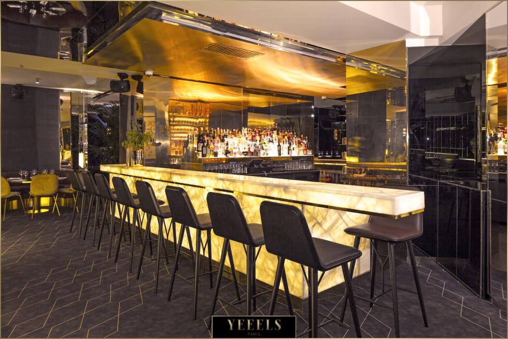 le bar à cocktails du Yeeels - Paris bar