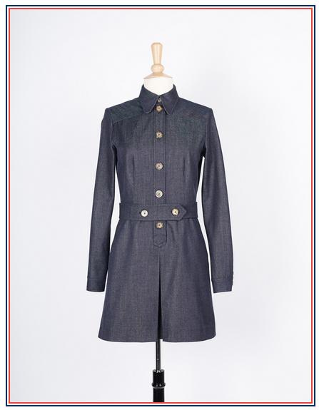 robe en jean Inès de la Fressange