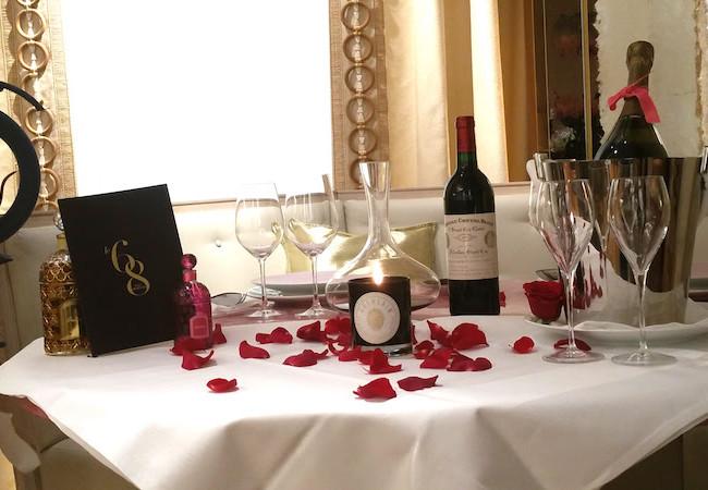 Un dîner romantique au 68 Guy Martin