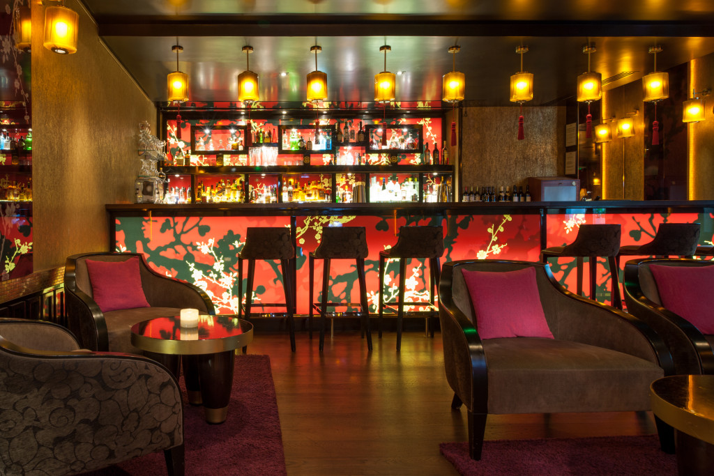 ®Guillaume de Laubier Bar Lounge le Qu4tre -Buddha-Bar Hotel Paris