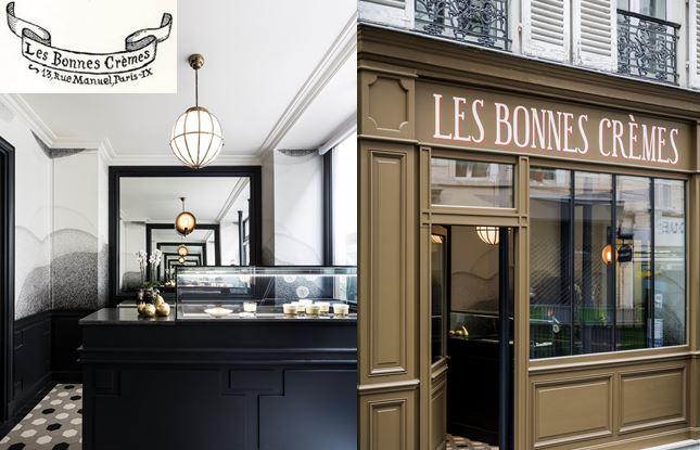 Les Bonnes Crèmes – adresse gourmande – tea time – Paris 9