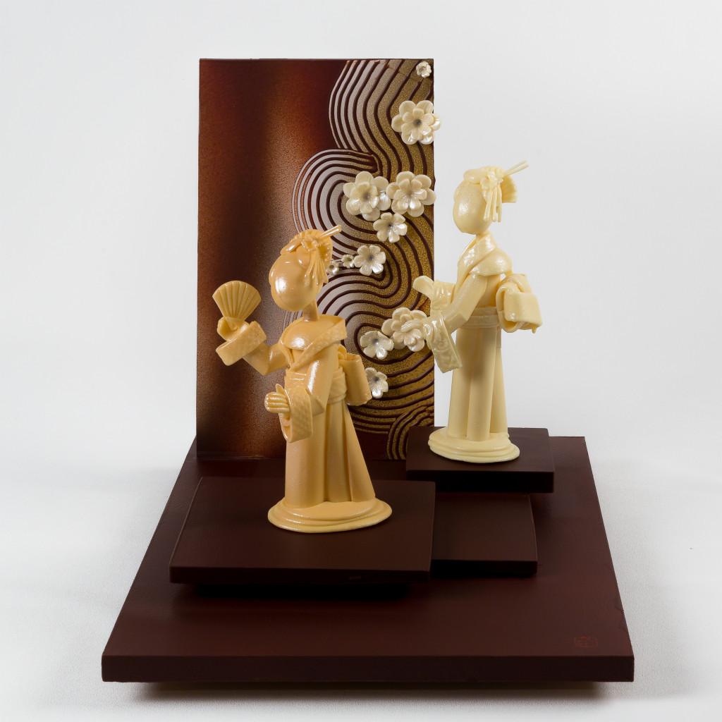 Exposition Influences, Petite histoire de l'art en chocolat par