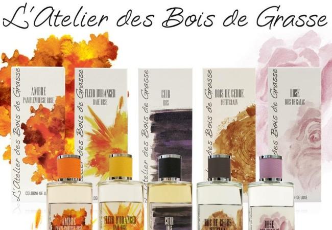 L'Atelier des Bois de Grasse – Cologne de luxe – Cuir Iris et Rose de Gaïac