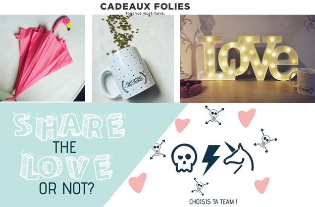 Idées cadeaux  originaux et insolites – Saint Valentin – Cadeauxfolies.fr