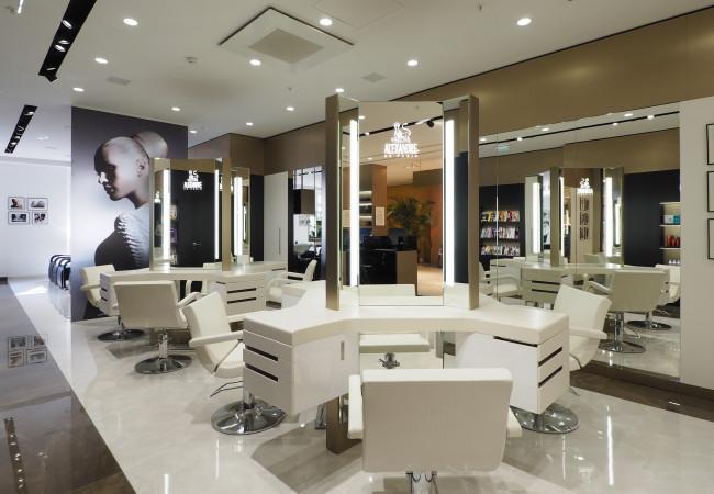 Alexandre de Paris – salon de coiffure aux Galeries Lafayette