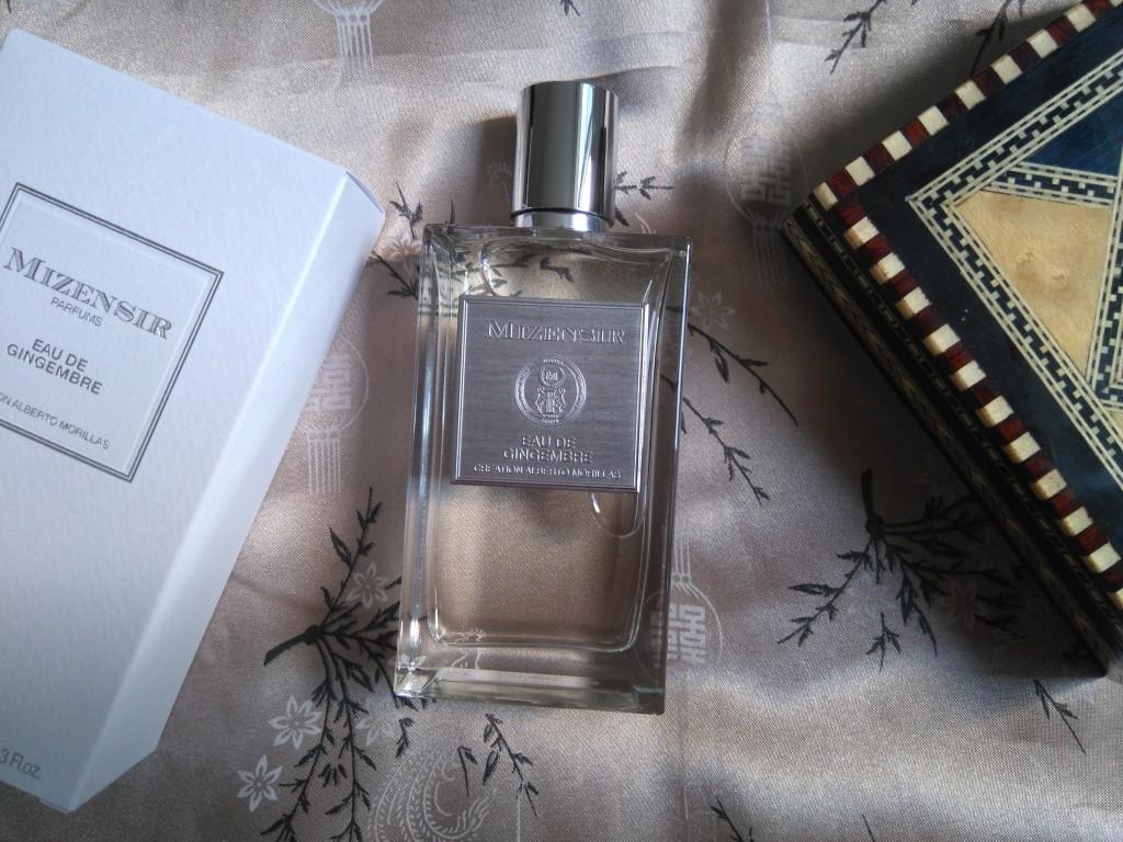 Eau de gingembre - Mizensir - les parfums d'Alberto Morillas