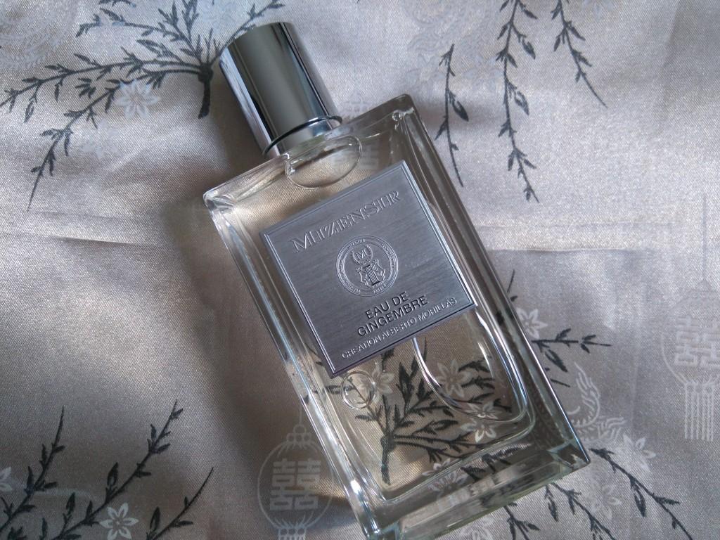 Les parfums Mizensir - eau de gingembre - alberto morillas - paris frivole