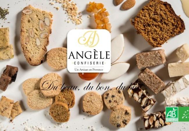 Angèle Confiserie – biscuits, nougats et calissons BIO – artisan provençal