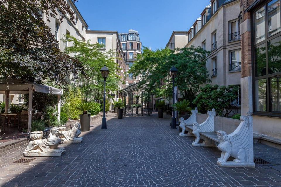 les jardins du marais paris