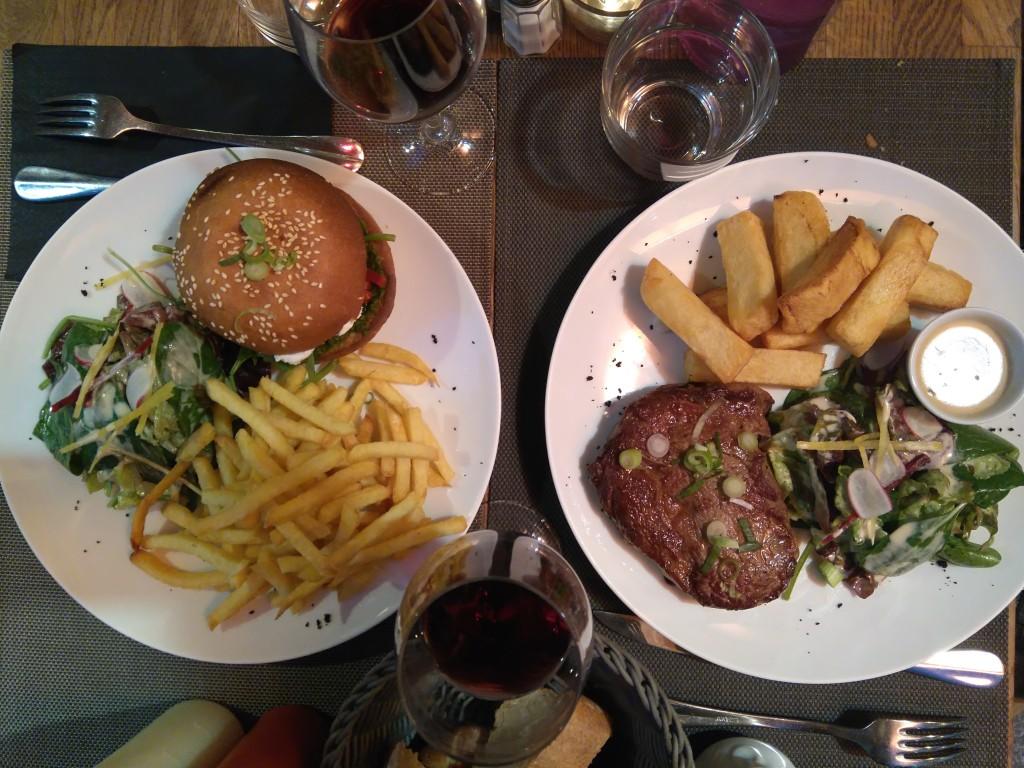 burger veggie - montorgueil