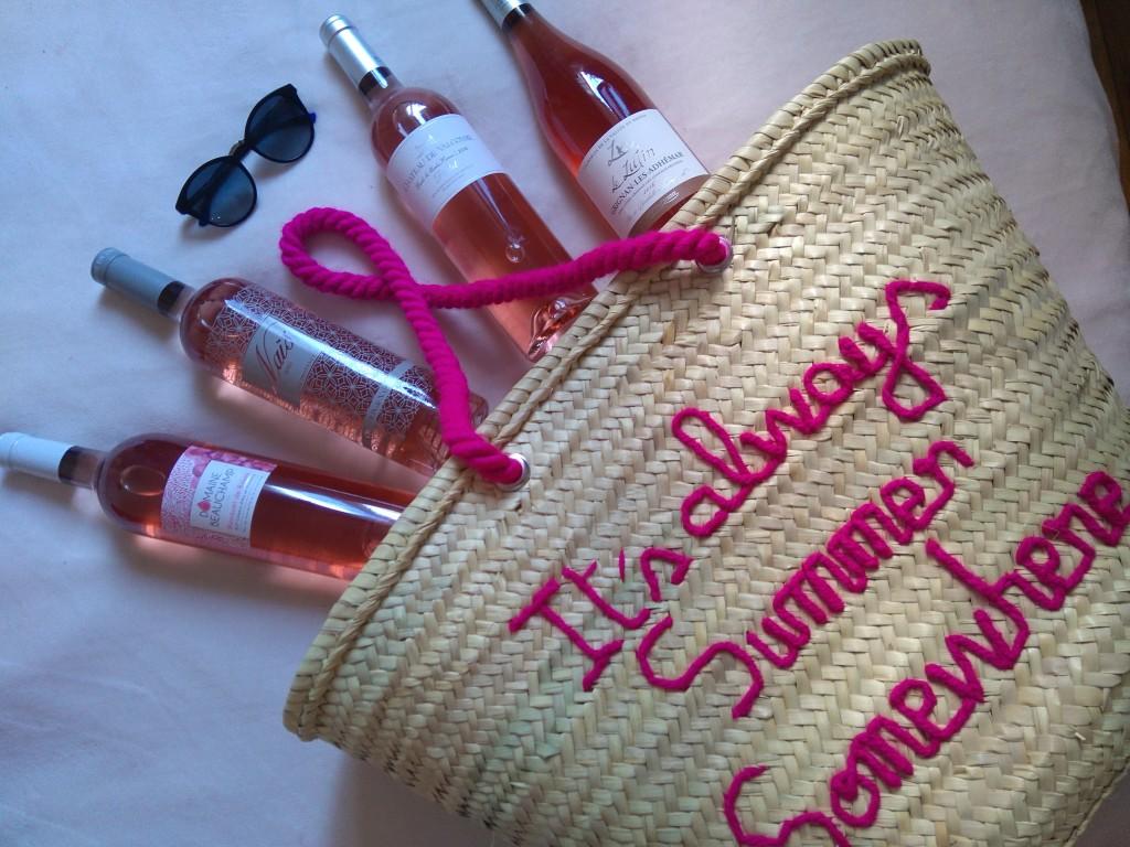 Rosé d'été - sélection de vins - Paris Frivole